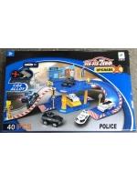 Набор парковка трек Полиция six-six-zero 40 единиц