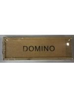Игра настольная Домино в деревянной коробке