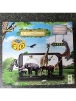 Интерактивная игра 4D обучающие карточки с животными Miaotu World NEW AR