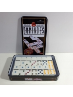 Игра настольная Домино в металлической коробке