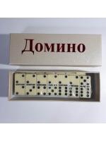 Игра настольная Домино в картонной коробке