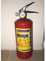 Огнетушитель порошковый ОП-1 в металлическом корпусе 1 литр автомобильный