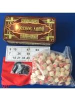 Настольная игра Русское лото в металлической упаковке