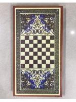 Набор 2 в 1 нарды и шашки 42 х 42 см