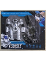 Робот Деформер с наручной катапультой браслетом