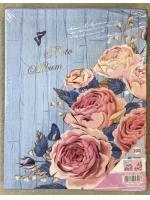 Фотоальбом 200 фото 10х15 см серия 4D Розы на синем
