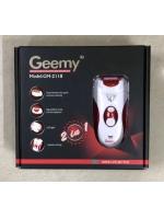 Эпилятор женский 2 в 1 Geemy GM-2118 с бритвой