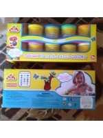 Пластилин тесто Happy Dough 10