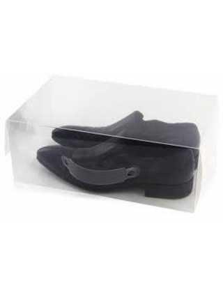 Коробка органайзер для хранения мужской обуви