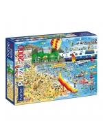 Настольная игра Пазл Пляж 2000 элементов