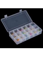Органайзер коробочка для бисера маленький 18 ячеек