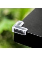 Стопы на уголок стола - защита 4 штуки квадратные в мягкой упаковке