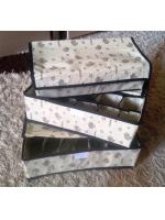 Органайзер для одежды с крышками 3 в комплекте