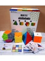 Набор скоростных кубиков MoYu пирамида скьюб скваер мегаминкс