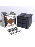 Скоростной кубик головоломка зеркальный ShengShou 3 х 3 серый