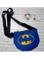 Мешочек чехол сумочка маленькая с мультяшными знаками
