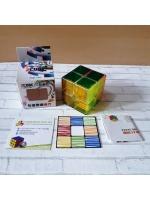 Скоростной кубик рубика 2х2 Z-cube Transparent