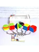 Набор скоростных головоломок-брелоков Z-Cube Mini Keychain Bundle