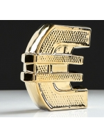 Копилка Евро булат золото 18 см