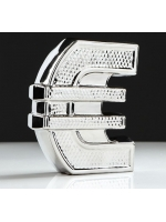 Копилка Евро булат серебро 18 см