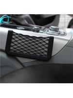Авто держатель карман-сетка под телефон TORSO черный 14,5 х 8 см