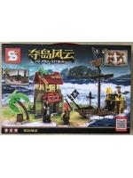 Конструктор серии Island Storm 1552 Пираты