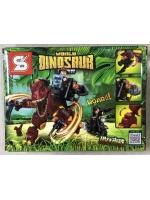 Конструктор Dinosaur 1504A Динозавр Медный 255 деталей