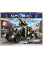 Конструктор Sembo Block 105473 Броневик пехоты VN9