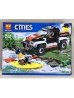 Конструктор Lari Cities 11218 Сплав на байдарке