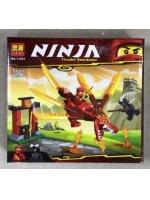 Конструктор Lari 11491 Ninja красный дракон