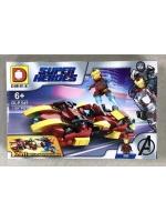 Конструктор DLP454 Super Heroes Железный человек 116 деталей