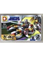 Конструктор DLP454 Super Heroes Человек Муравей 129 деталей