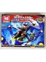 Конструктор Tenma Ninja TM6308 Вертолет на лыже 113 деталей