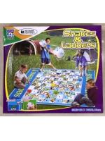 Игра для активного отдыха Snakes and Ladders большая бродилка