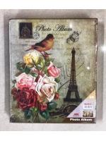 Фотоальбом 400 фото 10х15 см Башня и розы