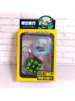 Набор Брелоков QiYi MoFangGe Gear Mini 3x3 3.5cm Keychain брелок
