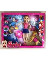 Кукла Hayley Барби набор уход за любимцами 3 собачки