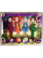 Набор кукол Сказочный патруль 4 девочки
