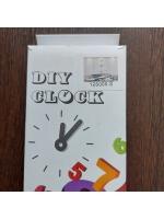 Часы настенные дизайнерские DIY CLOCK черный