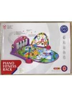 Многофункциональный развивающий музыкальный детский коврик с пианино Huanger
