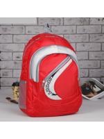 Рюкзак молодёжный Sport 1 отдел 3 наружных и 2 боковых кармана цвет красный 31*12*46