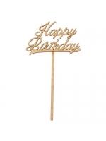 Топпер Happy Birthday 8х14