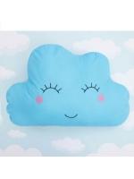 Подушка Облако голубое 55х38 см