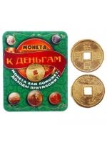 Кошельковый талисман Монета Большого дохода