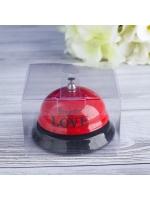 Звонок настольный Ring for a love 7,5 х 7,5 х 6,5 см