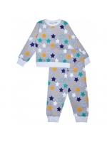 Пижамка детская звезды