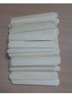 Набор палочек для мороженого и депиляции 100 шт прямые широкие 14 х 1,7 см