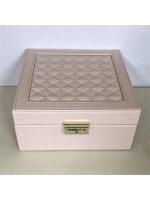 Кейс шкатулка органайзер для драгоценностей украшений 1 ярус большая