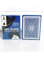 Карты 100% пластик игральные Casino Jumbo 54 шт 28 мкм