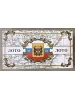 Настольная игра Русское лото в картонной светлой упаковке